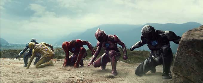 Рецензия на фильм «Могучие рейнджеры» - Пятерка ноющих супергероев