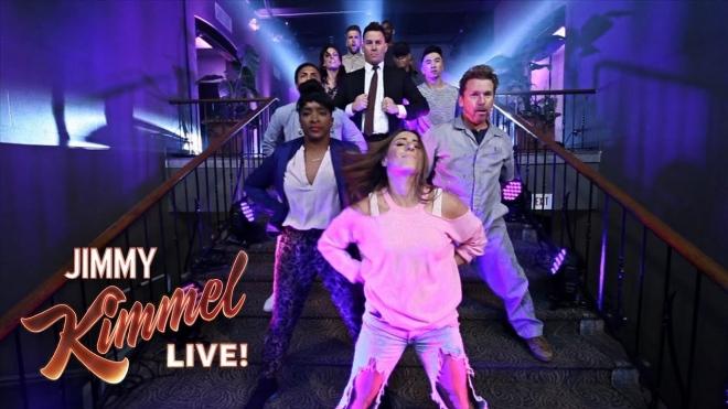 Ченнинг Татум протанцевал свой путь на шоу «Джимми Киммел в прямом эфире»