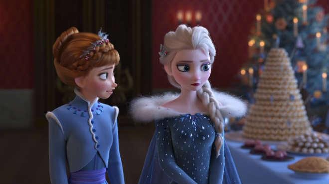 Слушаем песню Идины Мензел и Кристен Белл из мультфильма «Холодное сердце: Рождество с Олафом»