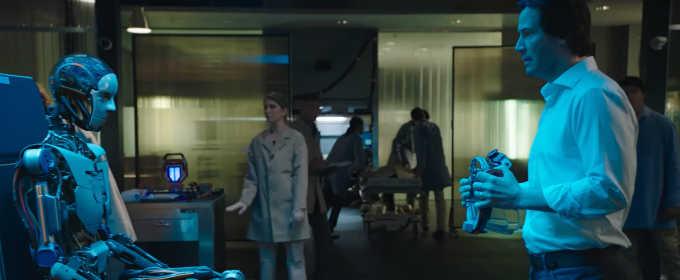 Трейлер фантастики «Репродукция» с Киану Ривзом