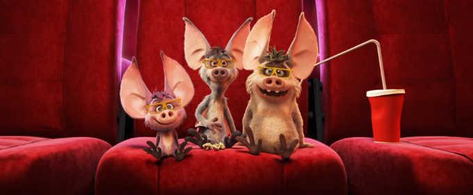 Смотрим первые 3 минуты мультфильма «Мы – монстры!» с милыми кажанчиками