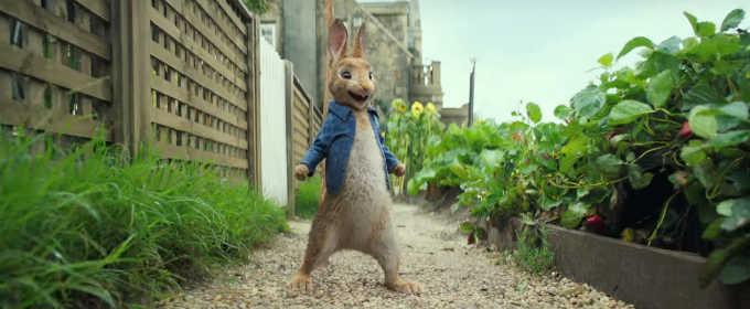 Международный трейлер «Кролик Петрик»