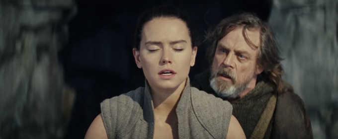 Рей смотрит в будущее в ТВ-ролике «Звездные войны: Последние джедаи»