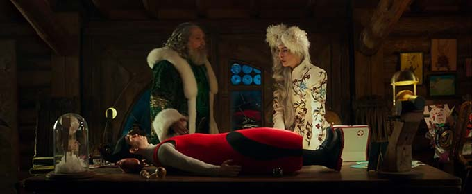 Украинский трейлер новогодней комедии «Санта и компания» с Одри Тоту