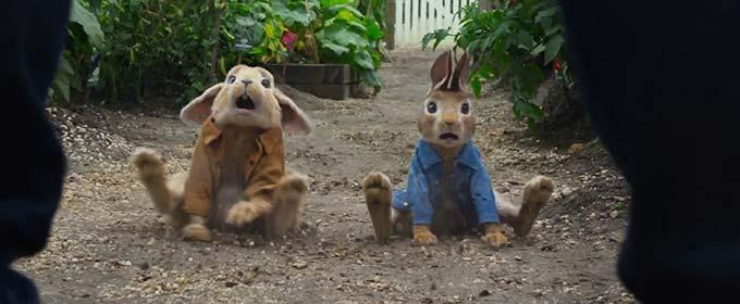 Второй украинский трейлер комедии «Кролик Петрик»